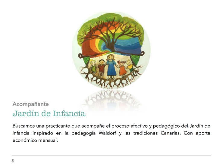 Oferta de Empleo Proyecto Educativo CasaMelliza 3