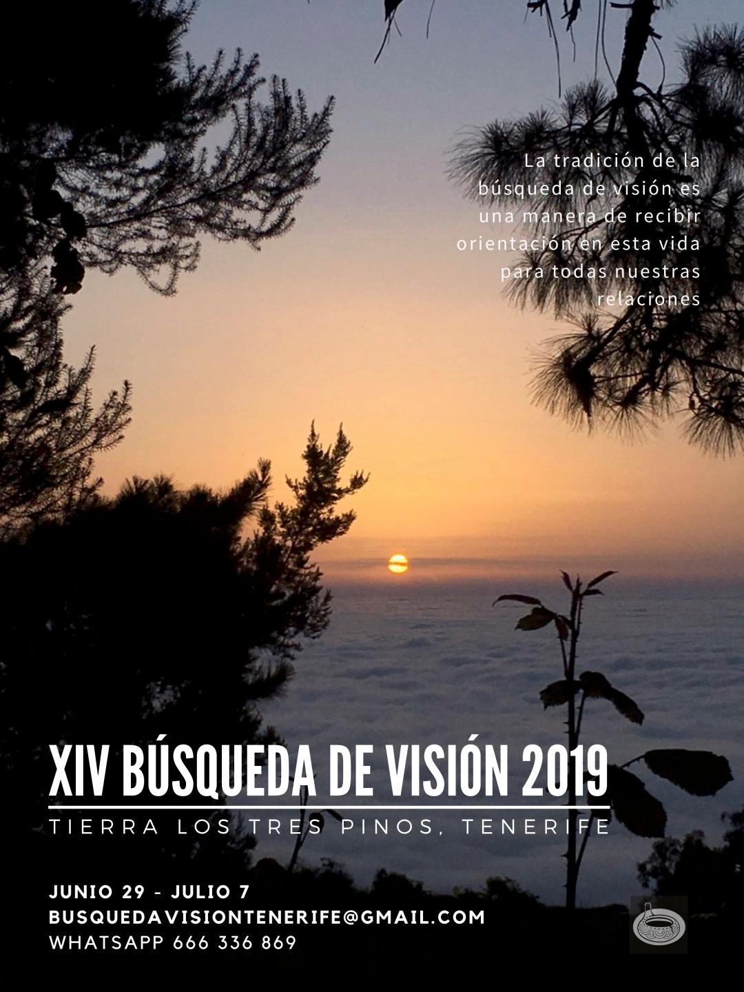 2019 TENERIFE - XIV BÚSQUEDA DE VISIÓN